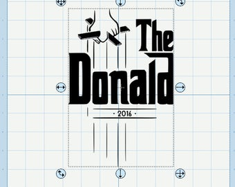 The Donald svg