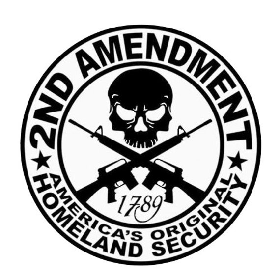 Vinyl Decal Sticker - 2nd Amendment Defender Decal for Windows, Cars, Laptops, Macbook, Yeti, Coolers, Mugs etc