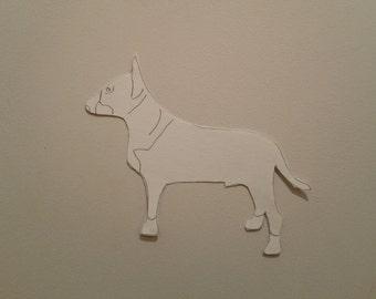 Personalised Bull Terrier Pattern
