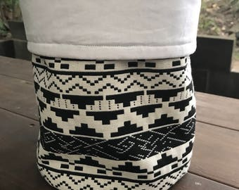 Fabric pot plant cover