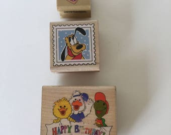 SUSY'S ZOO & DISNEY Rubber Stamps