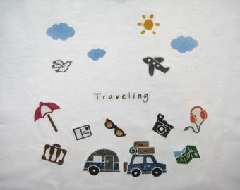 T shirt travel 56-104 can be customized