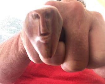Alabaster Rockhead Ring