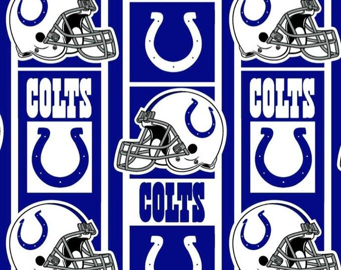 Build a Colts blanket, fabric blanket, football Blanket, fan blanket, Custom stadium blanket, Custom blanket, throw, fleece throw