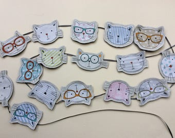 Cool Cats Bunting in a Bag