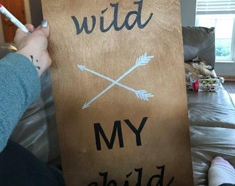 Child's room sign