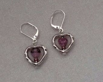 Hearts on Hearts Earrings