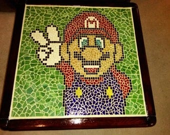 Super Mario Mosaic Coffee Table