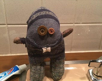 Randall - silly sock creature