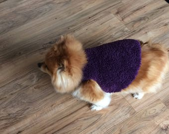Cozy dog sweater ( the sweater they will wear)