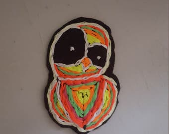 Neon Owl Patch