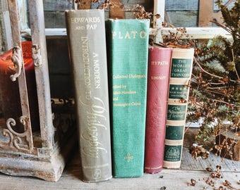 Old Books - 1900 Hypatia, Plato & Modern Philosophy