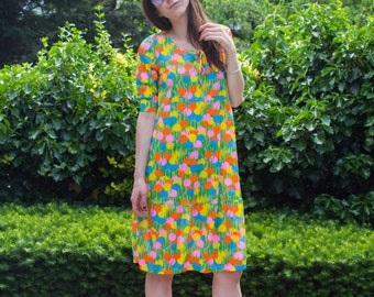 Gretchen Dress in The 70's