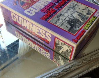 1975 Parker Brothers Guinness Game Of World Records Vintage Board Game