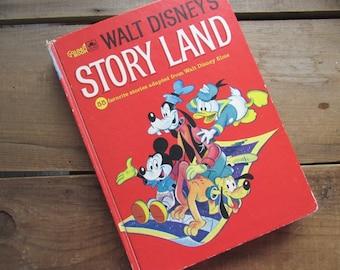 Walt Disney's Story Land Vintage Golden Book