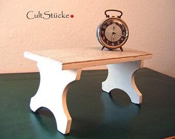 Shabby footrest step stool