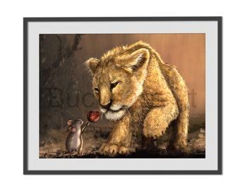 Love Story, digital /Peinture with an iPad Pro / digital illustration / drawing /Tableau / printing
