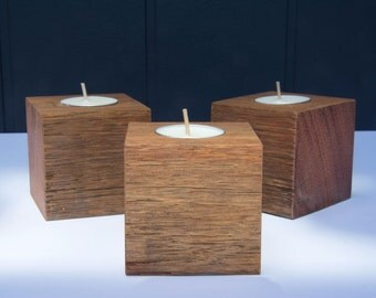 Recycled Hardwood Candle Cubes