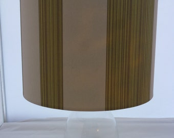 Contemporary Striped Lampshade
