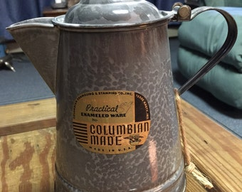 Graniteware Coffee Boiler