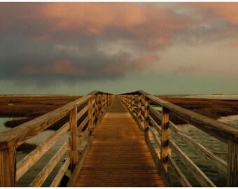Early Morning Boardwalk