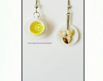 """Handmade earrings """"tea time"""""""