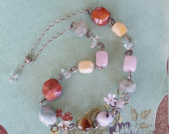 Chunky Gemstone necklace