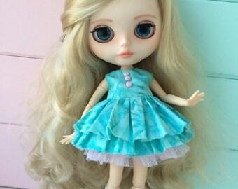 Custom Blythe doll OOAK Lea