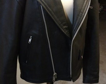 Vintage Leather Jacket Size small