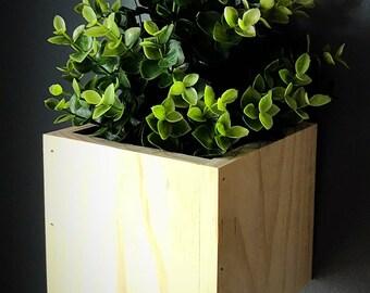 Modern Rustic Indoor / Outdoor Wall Planter