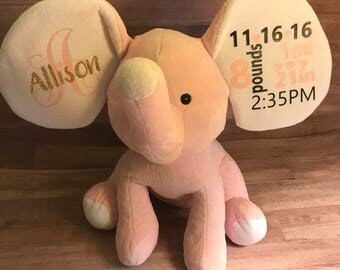 Birth Stas Plush Elephant