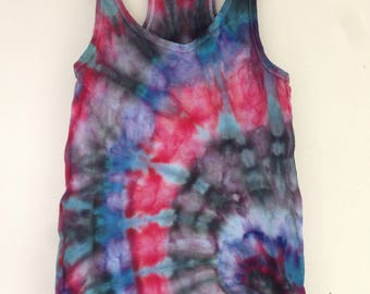 Spiral Racer Back Tank Top