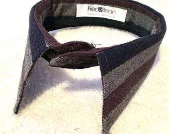 Bold Stripes Neck Collar