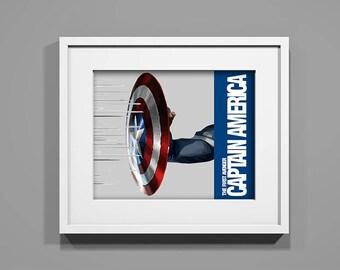 Captain America DIGITAL PRINT