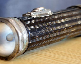 Bright Star flashlight 1950 / Lampe torche