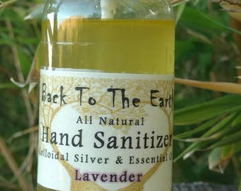 All Natural Hand Sanitizer Spray