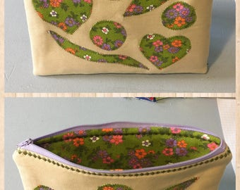 Zipper Pouch - Cosmetic Bag