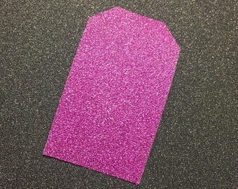Product Tags Hot Pink Sparkly (10)