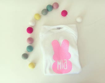 Personalized easter bunny onesie | shirt