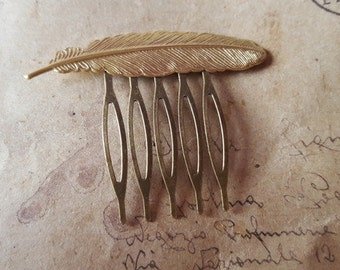 Small hair comb - spring-