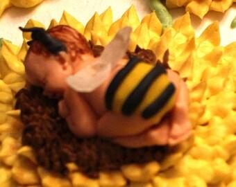 Gumpaste Bee Baby