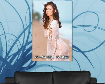 Rachel Rose Poster or Canvas | Limited Edition Rachel Rose Poster or Canvas