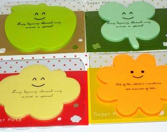 Kawaii Cute Posted Notes. Memo stationery notes.