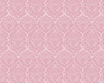 Pink Damask Garden Girl Riley Blake Fabric by the Yard