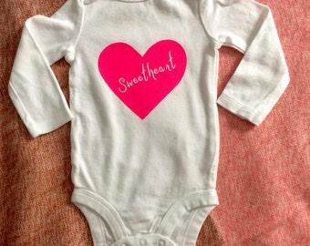 Baby Onesie, Sweetheart!