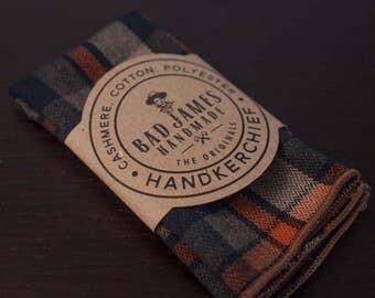 Lumberjack Handkerchief - Bad James - Mens Handkerchief - Logger