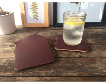 Coaster - Pleather and Cork