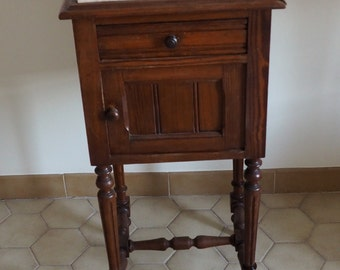 French bedside table (1920s-1930s)