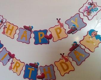 Pocoyo big  Birthday Banner