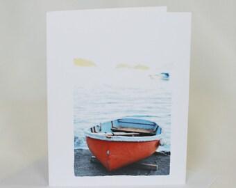 Row Boat Orange